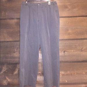 Claiborne adjustable waste black pants